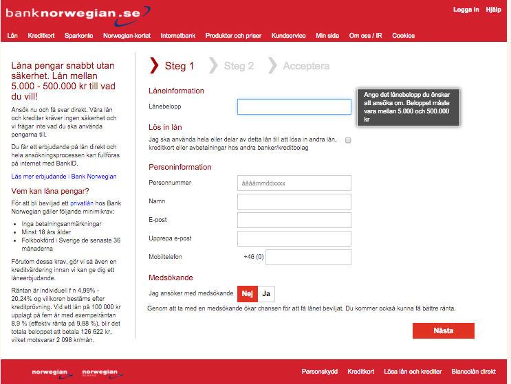 Bank Norwegian bra eller dåligt
