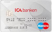 ICA banken kort