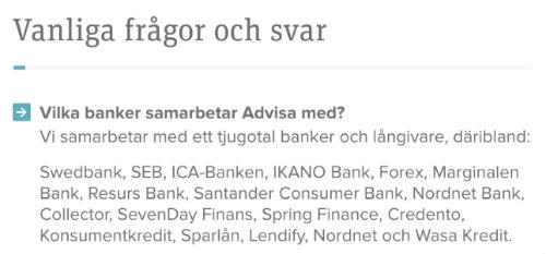 Advisa banker