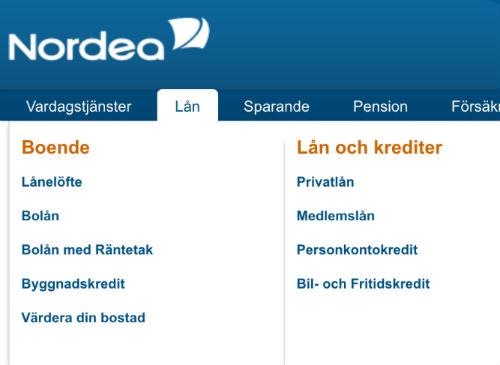 Nordea billån låna till bil