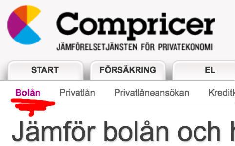 Compricer-bolån